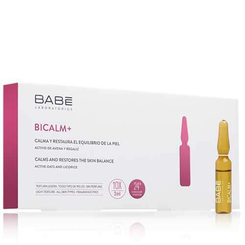 BABE Концентрат BICALM+ для естественного баланса кожи против покраснений