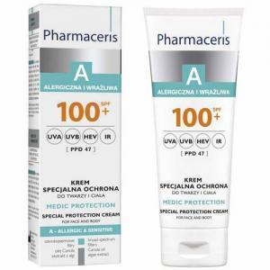 Pharmaceris A Крем защитный для лица и тела для взрослых и детей MEDI PROTECTION SPF 100+