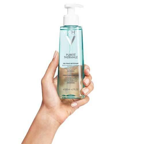Vichy Purete Thermale Гель очищающий освежающий для чувствительной кожи