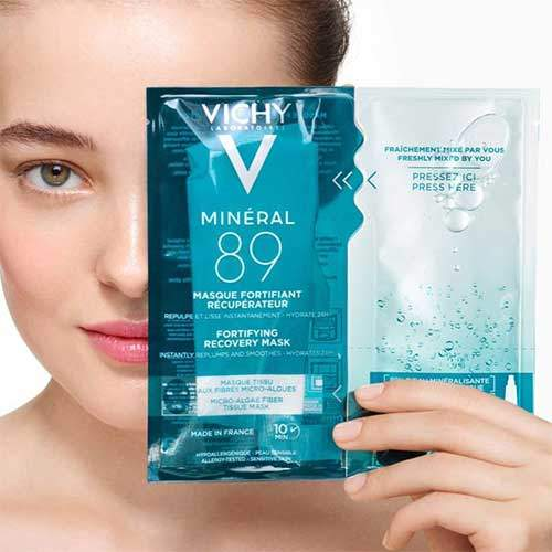 Vichy Minéral 89 Recovery Fortifying Mask