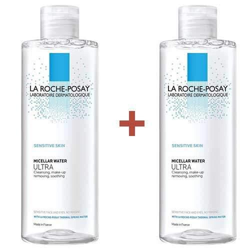 Дуопак La Roche-Posay Мицеллярная вода для чувствительной кожи Ultra, 400 мл*2шт