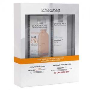 Набор La Roche-Posay Комплексный антивозрастной уход для сияния кожи