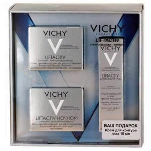 Vichy Подарочный набор Liftactiv Supreme комплексный уход для коррекции морщин и повышения упругости кожи