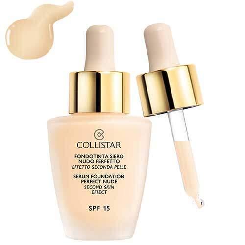 Collistar Тональная сыворотка «эффект обнаженной кожи» SPF 15