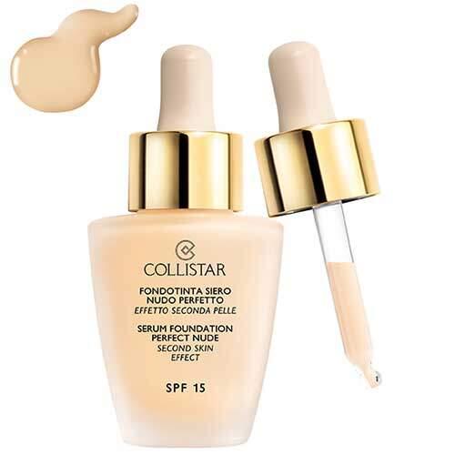 Collistar Serum Foundation Perfect Nude Second Skin Effect SPF 15, (01-Ivory)