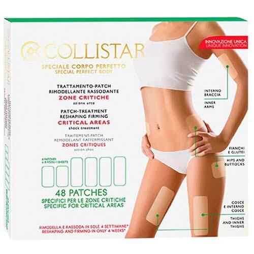 Collistar Моделирующие патчи для придания формы и упругости проблемным участкам тела