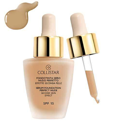 Collistar Serum Foundation Perfect Nude Second Skin Effect SPF 15, (03-Nude)