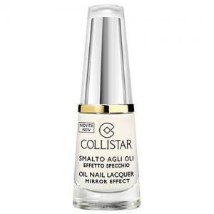 Collistar Oil Nail Lacquer Mirror Effect, 302 (Bianco Latte), 6ml
