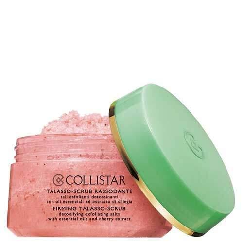 Collistar Талассо-скраб для тела укрепляющий с отшелушивающими солями, эфирными маслами и экстрактом вишни Speciale Corpo Perfetto