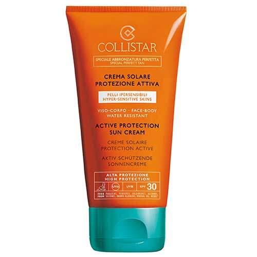 Collistar Крем для лица и тела солнцезащитный водостойкий для гиперчувствительной кожи SPF30 Abbronzatura Senza Sole