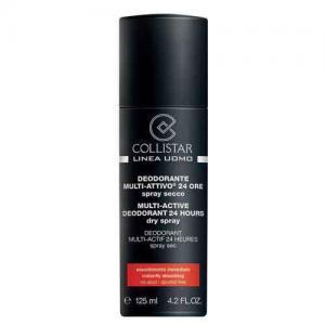 Collistar Мультиактивный дезодорант-спрей освежающий 24-го действия для мужчин Linea Uomo