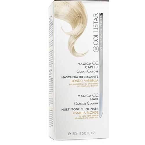 Collistar Маска для блеска волос с тонирующим эффектом для ультра светлых, седых и тонированных волос Speciale Capelli Perfetti