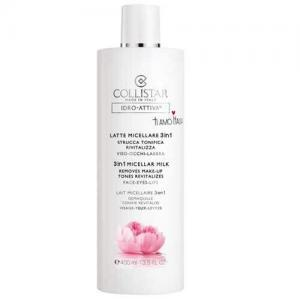 Collistar Мицеллярное молочко 3 в 1 для снятия макияжа с лица, глаз и губ Idro-Attiva