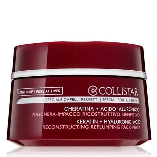 Collistar Восстанавливающая маска-компресс для истощенных и поврежденных волос с кератином и гиалуроновой кислотой Speciale Capelli Perfetti