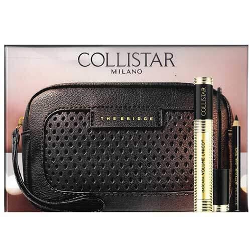 Collistar Набор косметический (Тушь для ресниц Mascara Volume Unico + Карандаш для век Kajal Pencil)