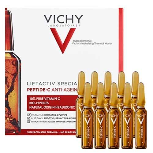 Vichy Концентрированная сыворотка для кожи лица и шеи Liftactiv Specialist Peptide-C, 1.8мл х 10шт.