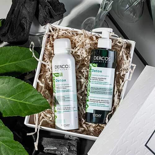 Набор Vichy Dercos Nutrients Программа Detox для волос и кожи головы, которые нуждаются в частом мытье