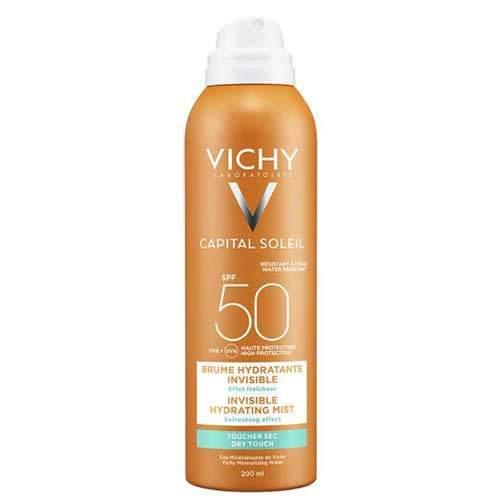 Vichy Ideal Soleil Спрей-вуаль увлажняющий SPF50
