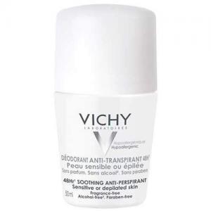 Vichy Шариковый дезодорант для чувствительной кожи 48 часов, 50 мл