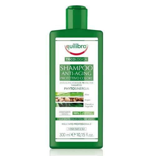 Equilibra Tricologica Защитный шампунь против старения для окрашенных волос