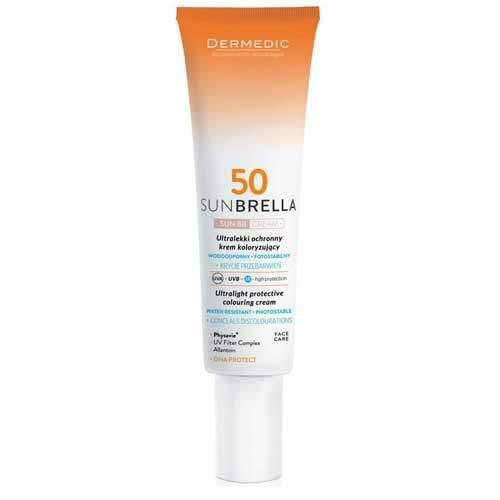 Dermedic Sunbrella Ультралегкий защитный тонирующий крем SPF 50