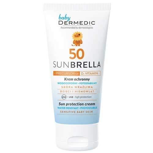 Dermedic Sunbrella Baby Солнцезащитный крем для лица SPF50, 50г