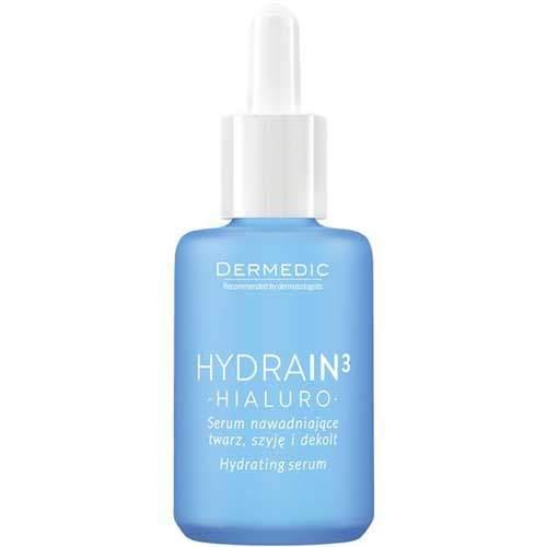 Dermedic Hydrain3 Hialuro увлажняющая сыворотка для лица, шеи и декольте
