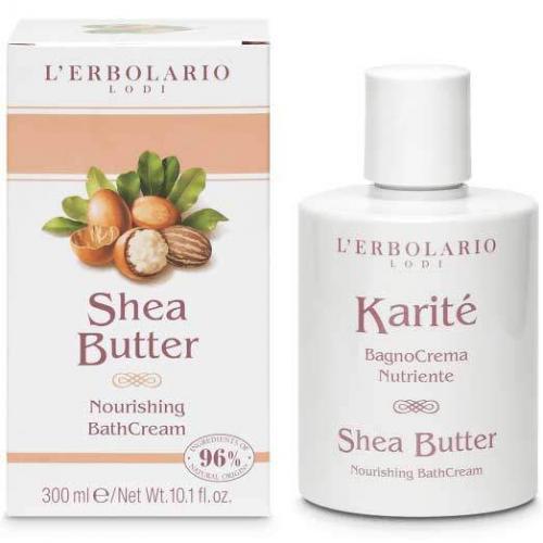 """L'Erbolario """"Karité"""" Питательный крем для ванны, 300 мл"""