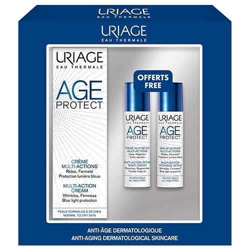 Набор Uriage Age Protect комплексный антивозрастной уход
