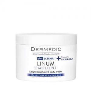 Dermedic Linum Emolient интенсивное липидовосполняющее средство для тела