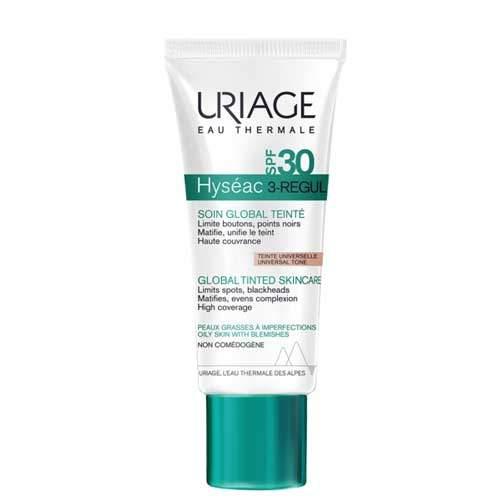 Uriage Универсальный тональный уход SPF30 Hyséac 3-Regul