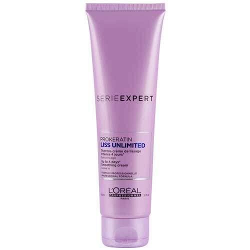L'Oreal Professionnel Термозащитный крем для укладки вьющихся волос Serie Expert Liss Unlimited