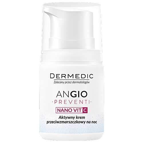 Dermedic Angio активный ночной крем против морщин 55г