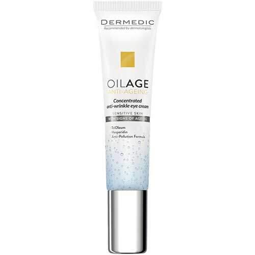 Dermedic Oilage Концентрированный крем против морщин для кожи вокруг глаз 15мл