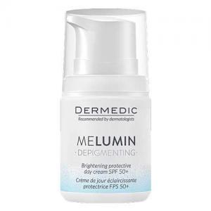 Dermedic Melumin дневной защитный осветляющий крем SPF50+ 55г