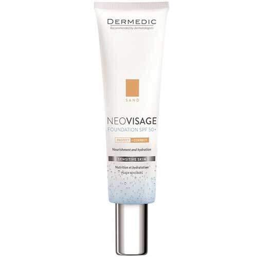 Dermedic Neovisage Увлажняющий тональный крем-флюид SPF 50+ (песочный) 30мл