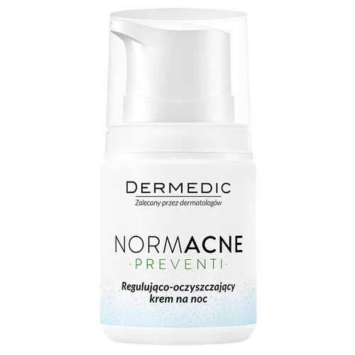 Dermedic Normacne регулирующе-очищающий ночной крем 55г