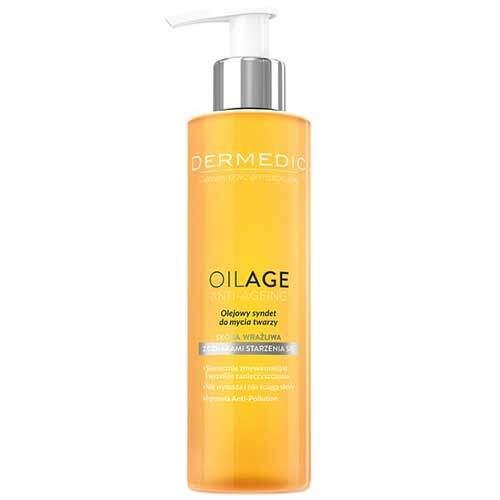 Dermedic Oilage Гель-масло для очищения (синдет) 200мл