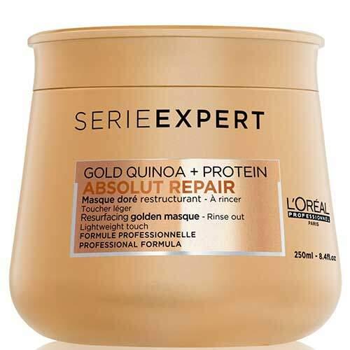 L'Oreal Professionnel Легкая восстанавливающая маска для поврежденных волос Serie Expert Absolut Repair Gold Quinoa+Protein