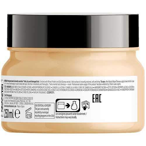 L'Oreal Professionnel Насыщенныя маска для сильно поврежденных волос Serie Expert Absolut Repair Gold Quinoa+Protein
