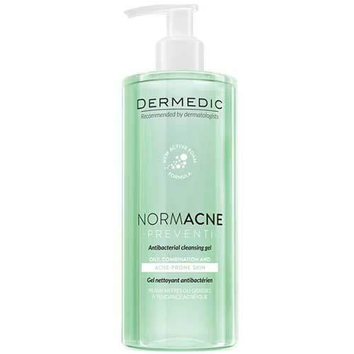 Dermedic Normacne Antibacterial cleansing facial gel