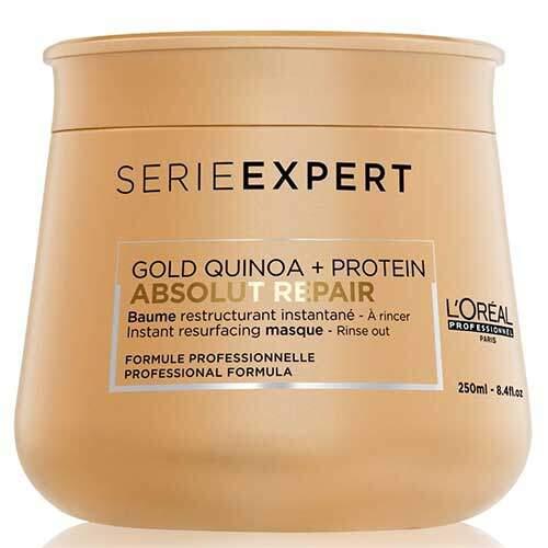 L'Oreal Professionnel Насыщенныя маска для сухих, поврежденных волос Serie Expert Absolut Repair Gold Quinoa+Protein