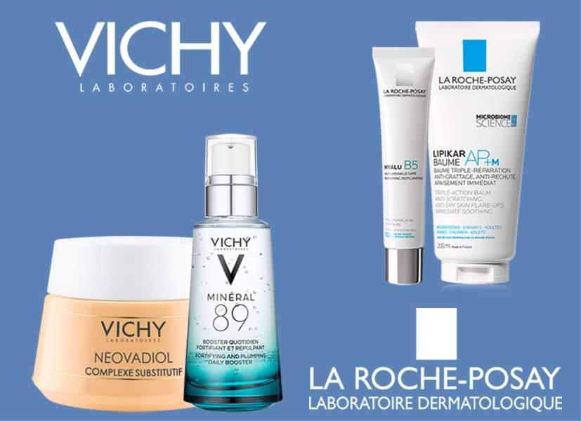 Подарок при покупке Vichy и La Roche-Posay