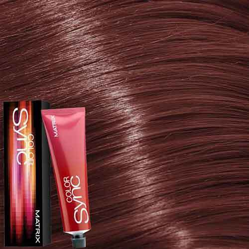 Matrix Color Sync Крем-краска для волос без аммиака 6BR