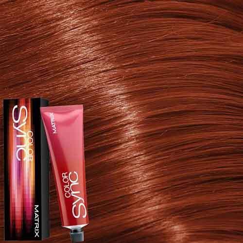 Matrix Color Sync Крем-краска для волос без аммиака 6RC+