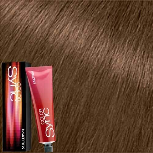 Matrix Color Sync Крем-краска для волос без аммиака 7AM