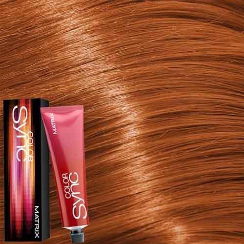 Matrix Color Sync Крем-краска для волос без аммиака 7СC+