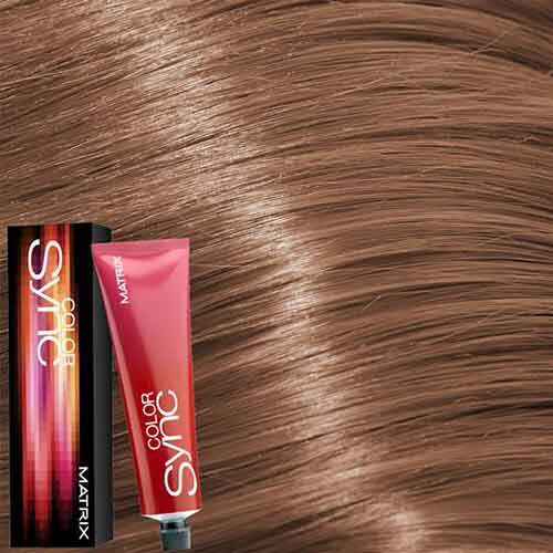 Matrix Color Sync Крем-краска для волос без аммиака 8BC