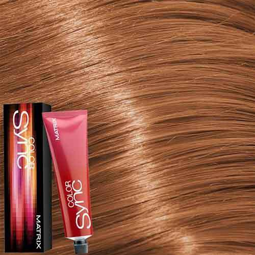 Matrix Color Sync Крем-краска для волос без аммиака 8CG