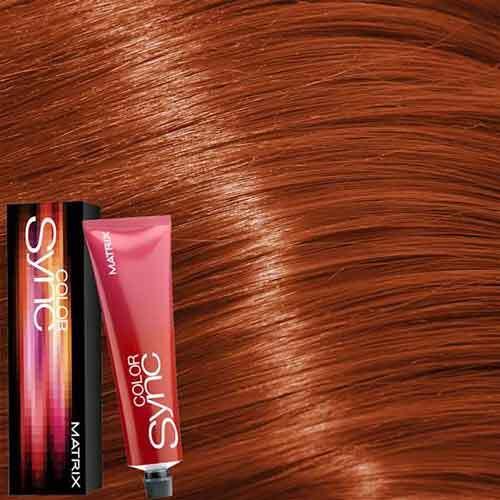 Matrix Color Sync Крем-краска для волос без аммиака 8RC+